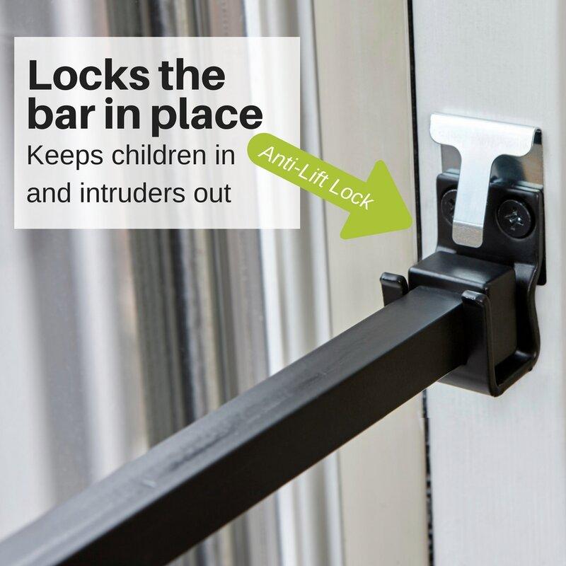 Ideal Security Patio Door Security Bar Reviews Wayfair