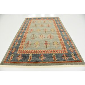 Foret Noire Light Blue Area Rug