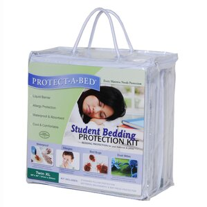 Student Bedding Hypoallergenic Waterproof Mattress Protector by Protect-A-Bed