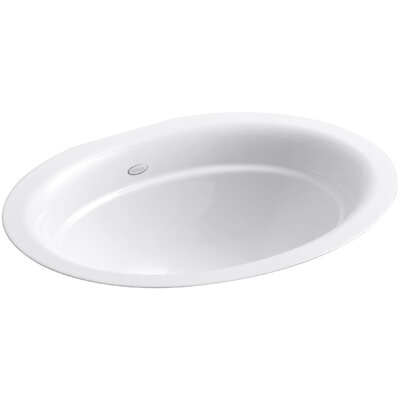 Undermount Bathroom Sink Oval kohler serif oval undermount bathroom sink & reviews | wayfair
