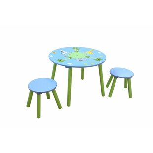 Safari Children's 3 Piece Table and Chair Set by Liberty House Toys