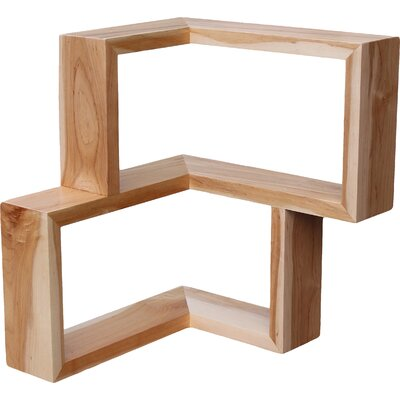Tronk Design Franklin Wall Shelf Finish: Maple