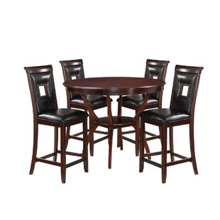 Gorman 5 Piece Counter Height Dining Set
