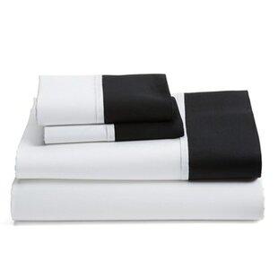 White Sheets With Black Trim Wayfair