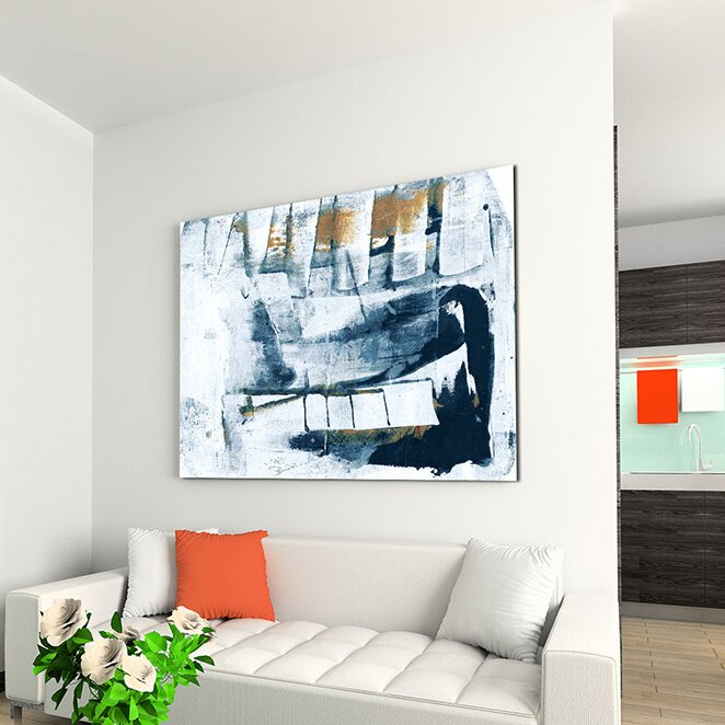 Enigma Abstract 943 Framed Graphic Art