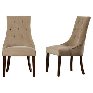 Castle Pines Button Tufted Side Chair (Se..