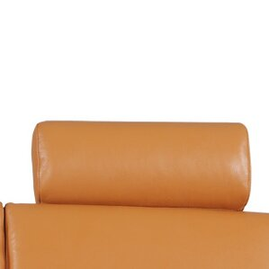 Angela Leather Loveseat by Whiteline Imports
