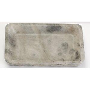 Rectangular Smoked Alabaster Tray