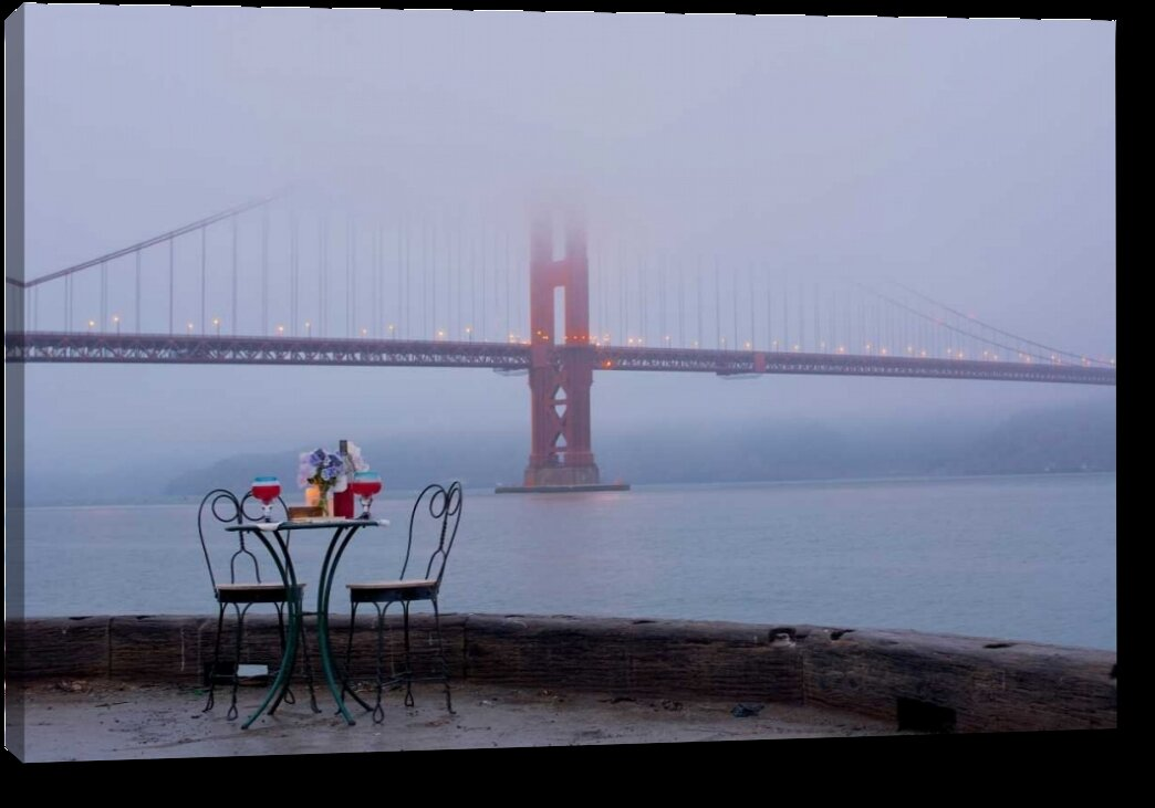 Winston Porter Dream Cafe Golden Gate Bridge 56 By