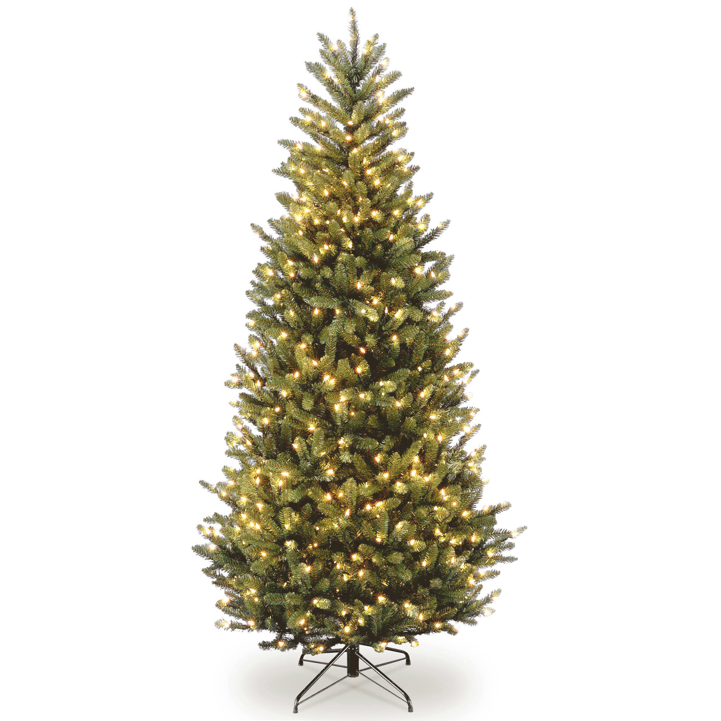 The Holiday Aisle Natural Fraser Slim Green Fir Trees Artificial