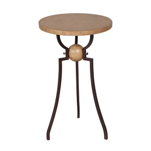 McKinley Wood and Metal End Table by 17 Stor..