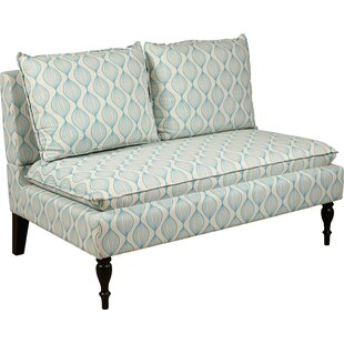 Hofmann Upholstered Graphic Print Banquette Sofa