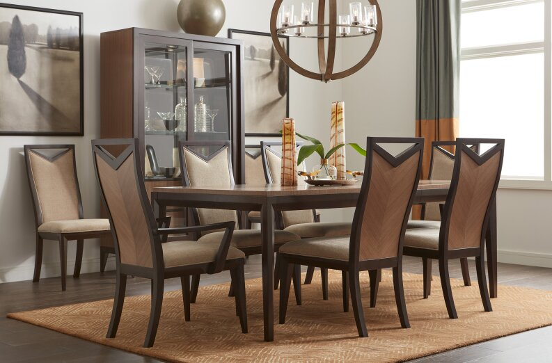 byerly extendable wood dining table - Extendable Wooden Dining Table