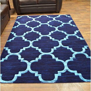 Mccampbell Navy Blue Area Rug