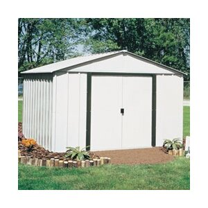 Arlington 10 ft. 3 in. W x 7 ft. 11 in. D Metal Storage Shed
