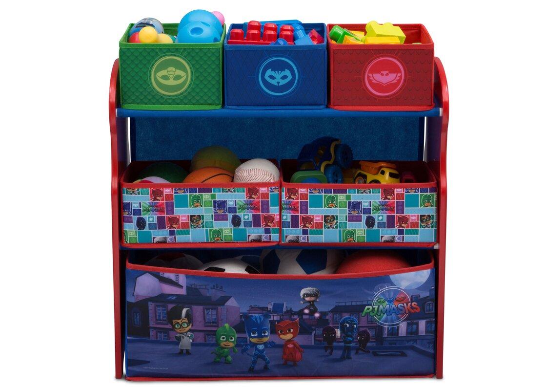 Childrens Kids 3 Tier Toy Bedroom Storage Shelf Unit 8: Delta Children PJ Masks Multi-Bin Toy Organizer & Reviews