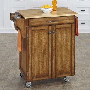 Wood Kitchen Islands U0026 Carts Youu0027ll Love | Wayfair