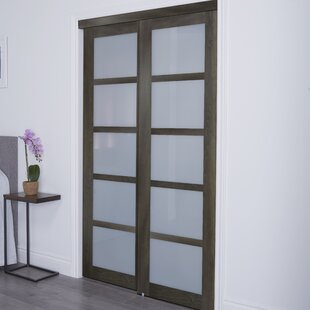 Baldarario 5 Lite 2 Panel Mdf Sliding Interior Door