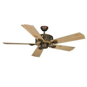 Log Cabin 5-Blade Ceiling Fan