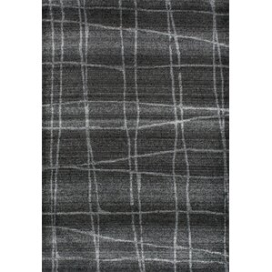 High Quality Zuri Chalkboard Checkers Gray Area Rug