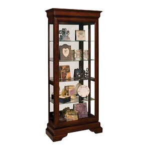 Avignin Lighted Curio Cabinet by Philip R..
