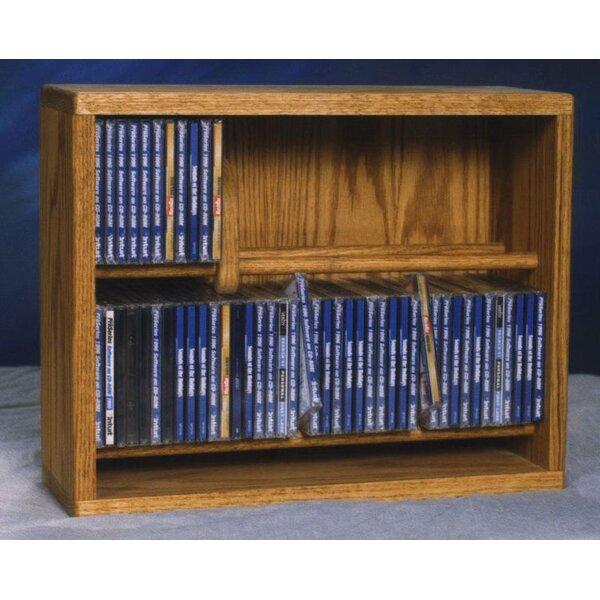 Wood Shed 200 Series 80 CD Multimedia Storage Rack Reviews