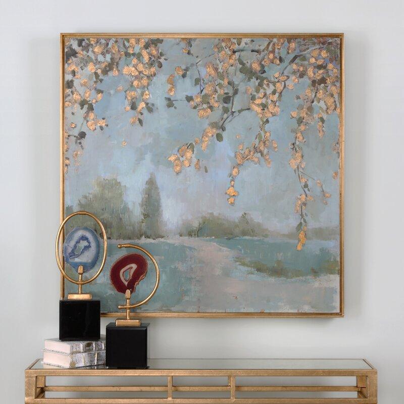 Peaceful Landscape Art Framed Painting Print Amp Reviews