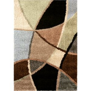 Adele Brown/Green Area Rug