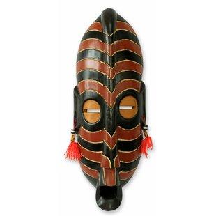 Safari Original African Wood Mask Wall Décor