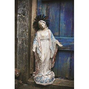 Resin Virgin Mary Statue