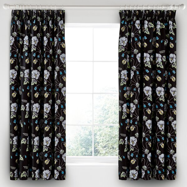 v a vorhang set gardenia mit gardinenringen bewertungen. Black Bedroom Furniture Sets. Home Design Ideas
