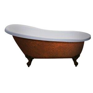 5 foot clawfoot tub. Save to Idea Board Clawfoot Tubs You ll Love  Wayfair