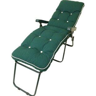 Milan Sun Lounger with Cushion by Swift Garden Furniture