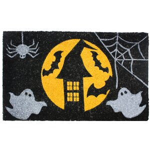 Halloween House Doormat