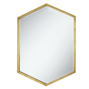 Cherine Hexagon Wall Mirror