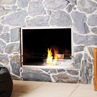 Double Sided Fireplace Wayfair