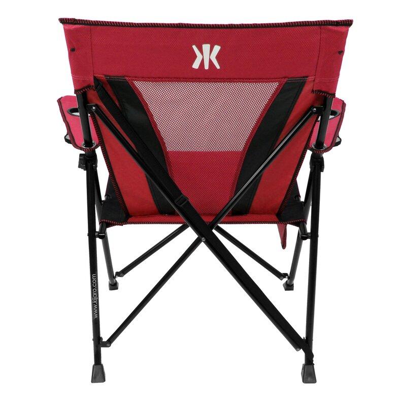 Kijaro Xxl Dual Lock Folding Camping Chair Amp Reviews Wayfair