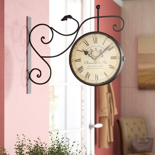 Dahill Cau Renier Vintage Inspired Train Railway Station Wall Clock