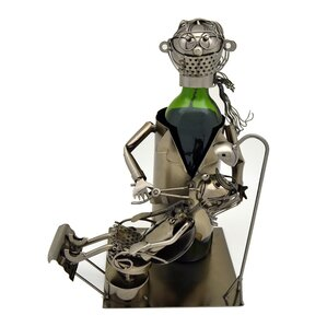 Lady Dentist 1 Bottle Tabletop Wine Rack by Three Star Im/Ex Inc.