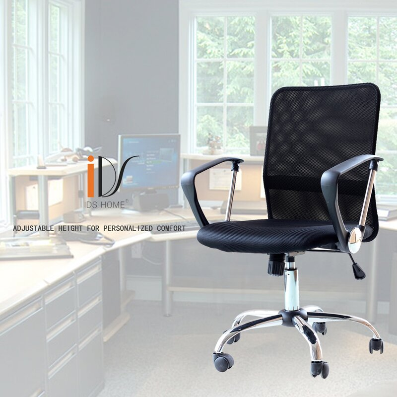 Ergonomic Mesh Mid Back Office Chair