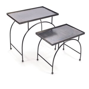 Bailey 2 Piece Nesting Table Set by Trent Austin Design