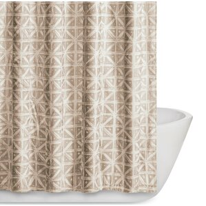 orange and brown shower curtain. Orizaba Shower Curtain Modern Ivory  Cream Curtains AllModern