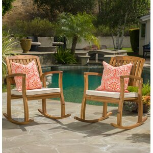 Coyne Acacia Rocking Chair (Set of 2)