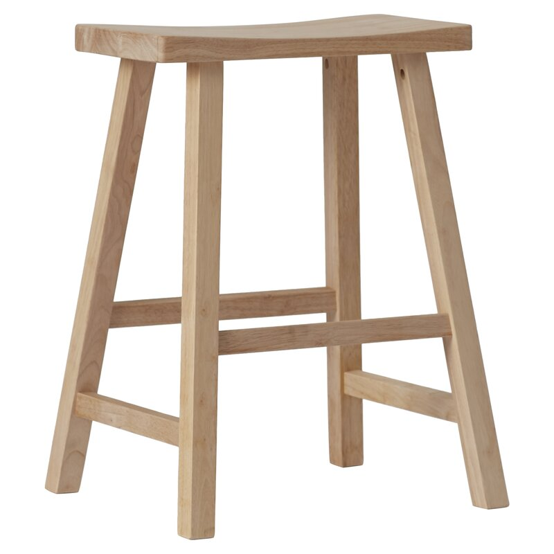 august grove toby 24 backless wood bar stool reviews. Black Bedroom Furniture Sets. Home Design Ideas