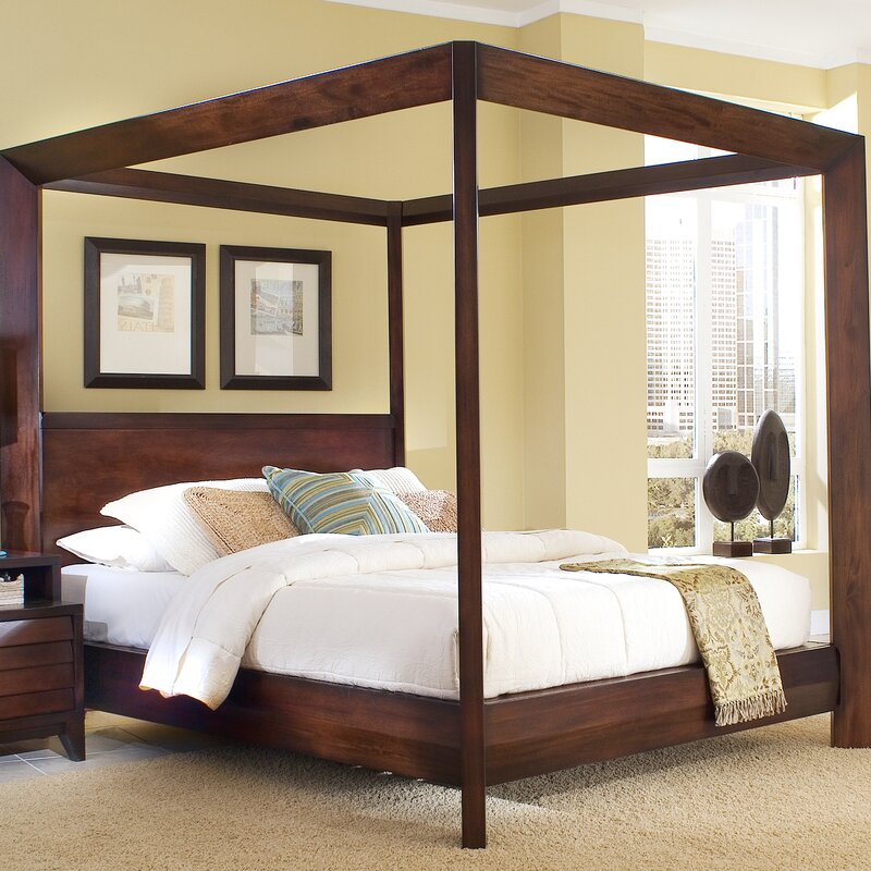 Home Image Island Canopy Bed & Reviews | Wayfair