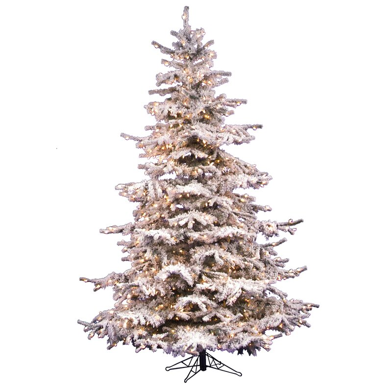 Artificial Flocked Christmas Tree