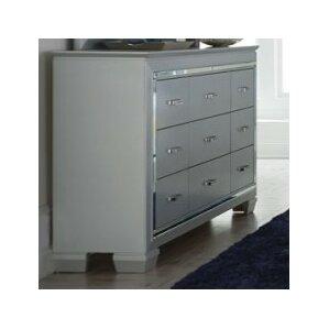 Allura 9 Drawer Standard Dresser by Homelegance