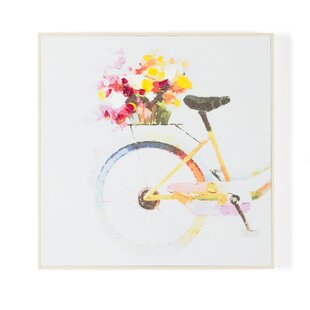 Bicycle Wall Art On Canvas