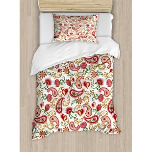 Paisley Indian Style Duvet Set