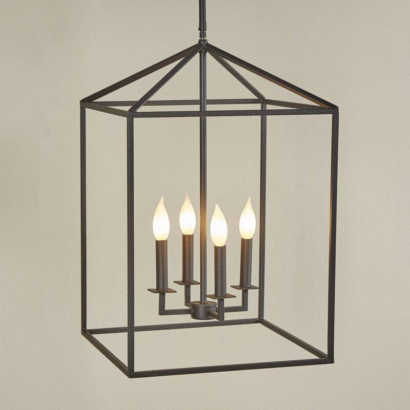 Black Foyer Lighting : Laurel foundry modern farmhouse odie light foyer pendant